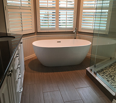 Southern Comfort Home Improvements and Maintenance can provide updated looks to your bathroom
