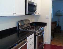 Southern Comfort Home Improvements and Maintenance can update your kitchen with new cabinets, lighting and tile