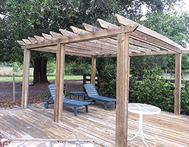 Southern Comfort Home Improvements and Maintenance can update your outdoor living area